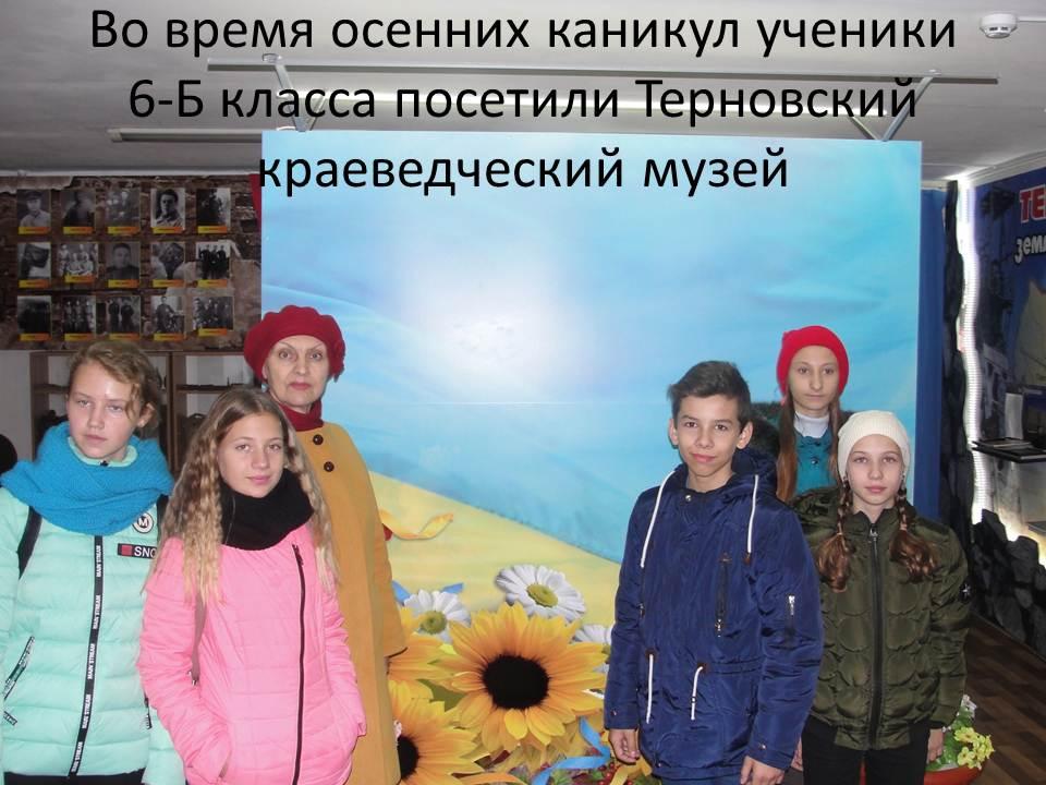 Терновский краеведческий музей