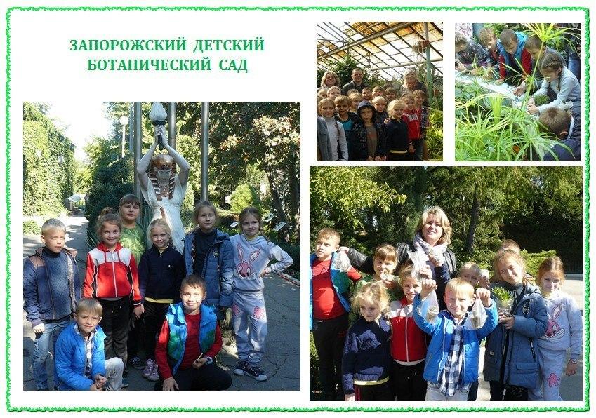 Запорожский детский ботанический сад