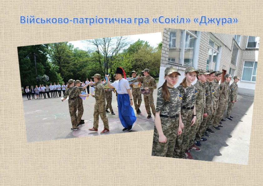 Військово-патріотична гра «Сокіл» «Джура»